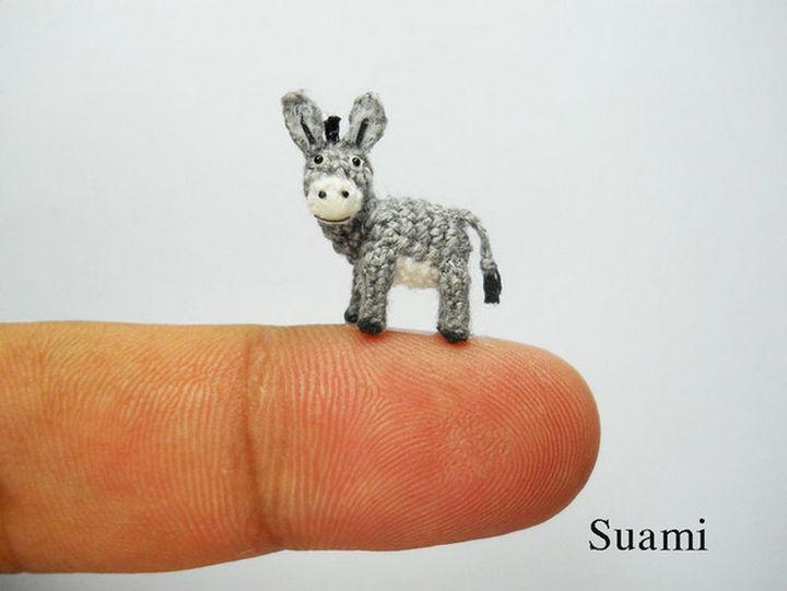 Hey, crochet donkey!