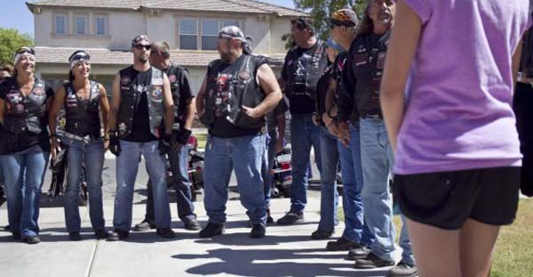 These Bikers Approached a Young Girl and Changed Her Life Forever.