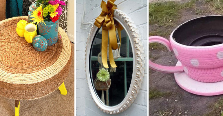 22 Awesome Ways to Turn Old Tires Into Recycled Crafts.