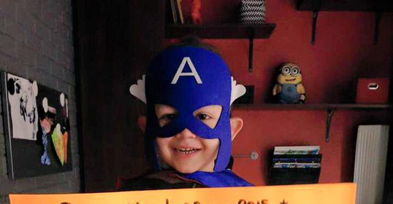 Little 4-Year-Old Hero Felix Beats Leukemia with a KnockoutLittle 4-Year-Old Hero Felix Beats Leukemia with a Knockout.