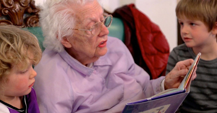 The Growing Season documentary film showcases a Nursing Home and Preschool that combine for the Young and Old.