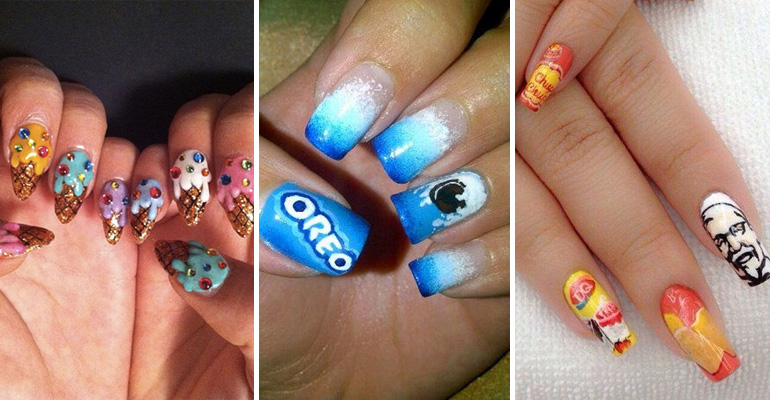 13 Candy-Inspired Manicures That Are as Sweet as Candy.