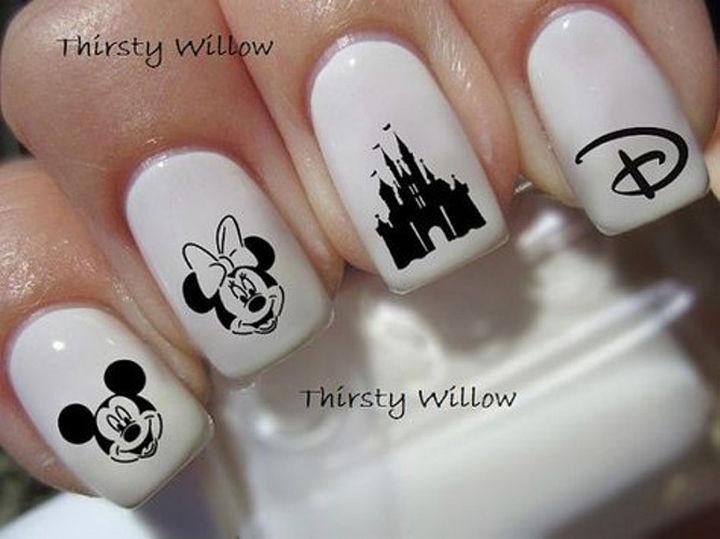18 Disney Nails - Classic Disney Nail Art.