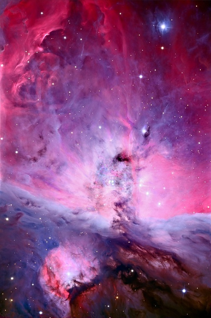 21 Awe-Inspiring Photos - A high-resolution photo of the Orion Nebula.
