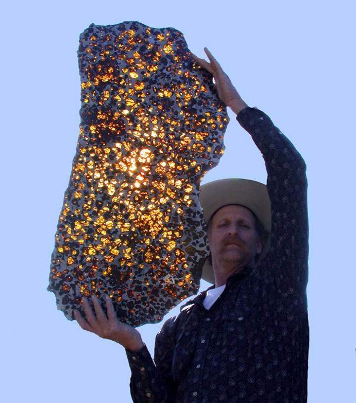 21 Awe-Inspiring Photos - The Fukang Meteorite.