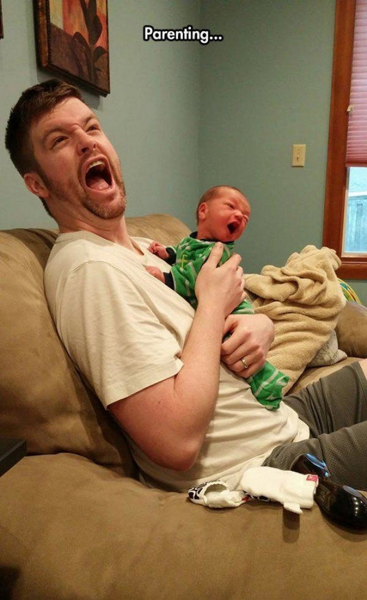 21 Hilarious Parents - Parenting can be a little scary at times.