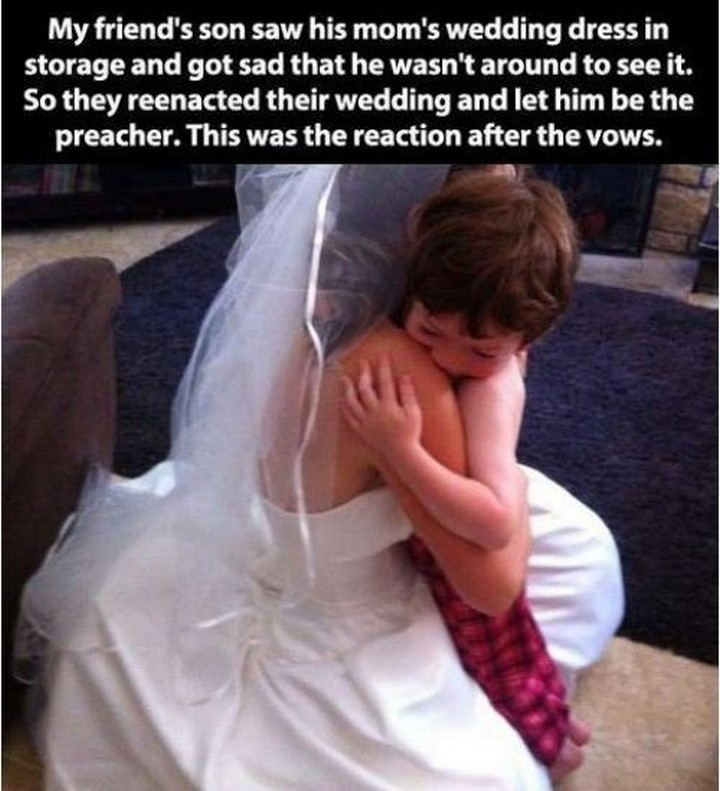 21 Hilarious Parents - A mother who made her son feel awesome.