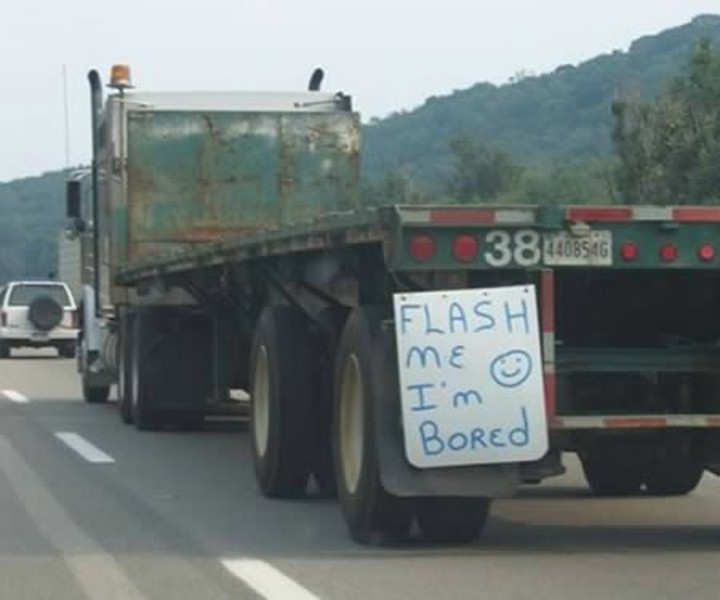 Funny Truck Signs That Will Have You Do A Double Take - 22 hilarious truck signs spotted on the road