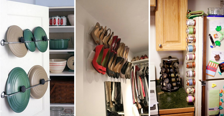 46 Storage Tips That Will Help Organize Your Entire Home.
