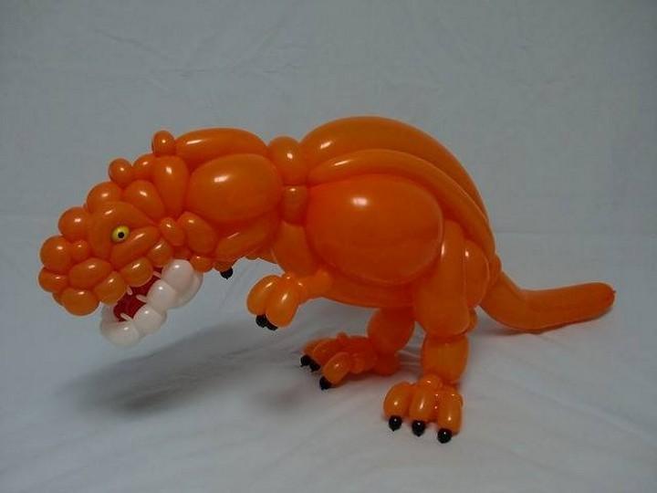 Balloon Dinosaur.