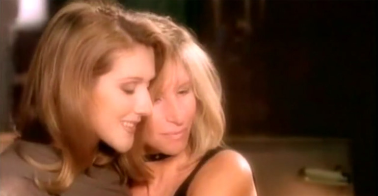 Celine and Barbra Sang This Duet Nearly 18 Years Ago and It Remains Incredibly Beautiful