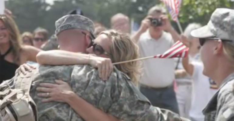 Five Amazing Soldiers Unite Together to Sing 'Coming Home'.