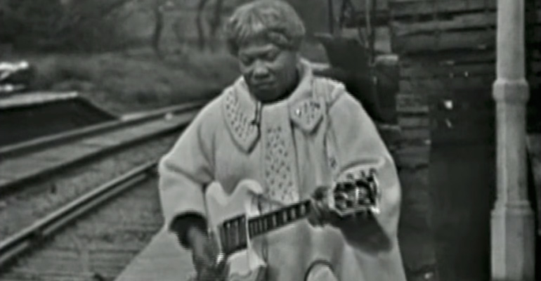 "Sister Rosetta Tharpe's Performance Of ""Didn't It Rain"" Is Legendary."