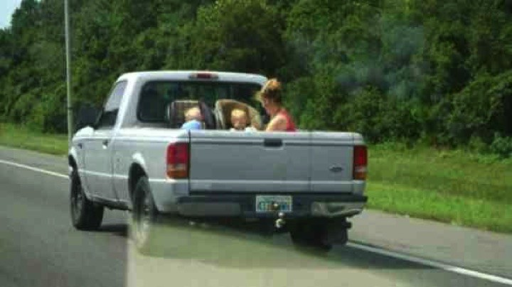 34 Parenting Fails - I'm no expert, but I think baby car seats need to go INSIDE the vehicle.
