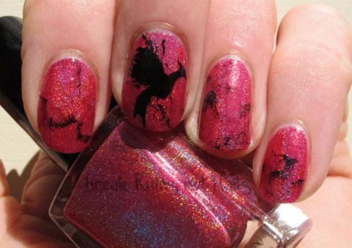 13 Book-Inspired Nail Art Designs - Catching Fire by Suzanne Collins