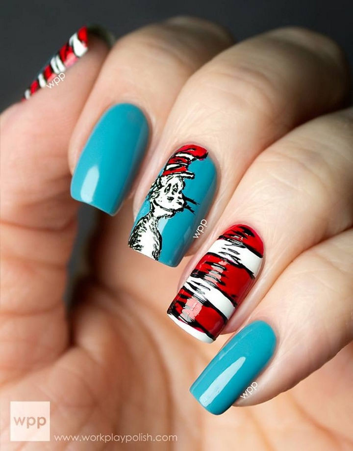 13 Incredible Book-Inspired Nail Art Designs Featuring Popular Books