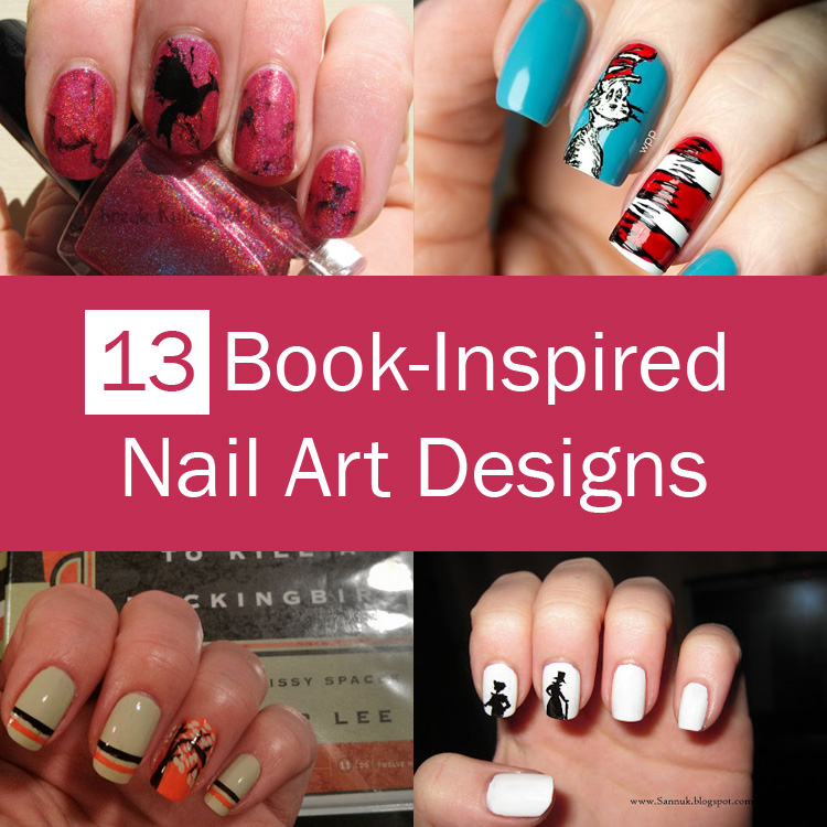 13 Incredible Nail Art Designs Inspired By Popular Books