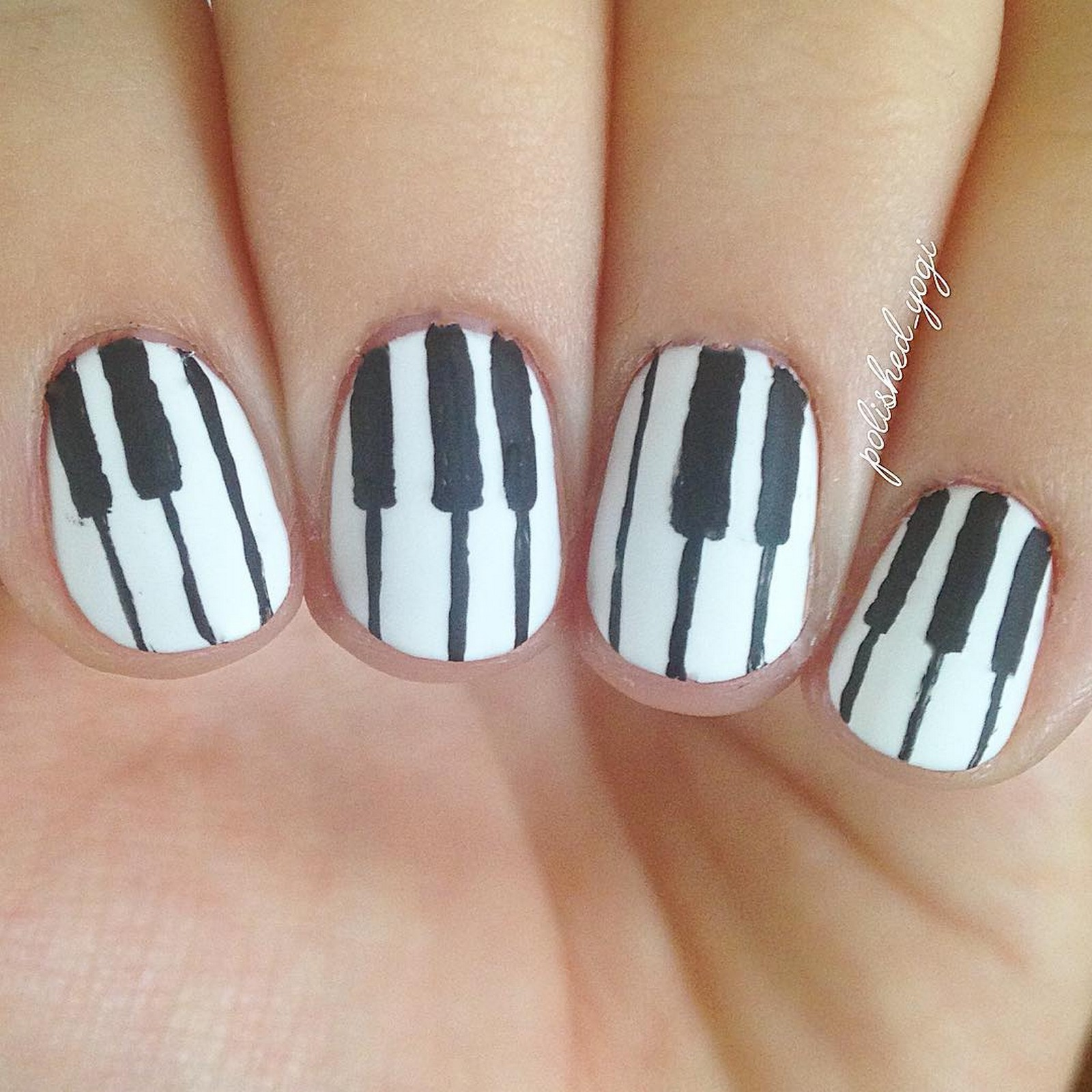 18 Music Nails And Nail Art Designs That Will Make You