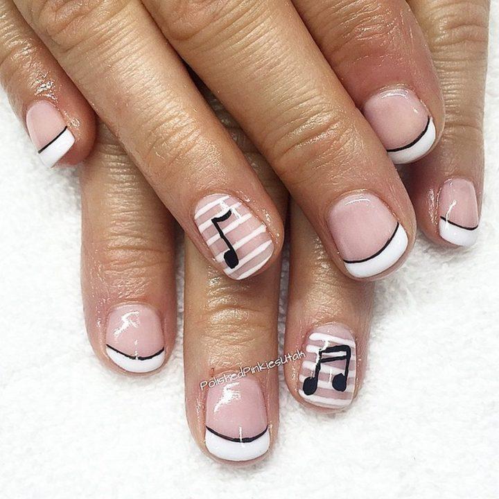 18 Music Nails - Rockstar nails.