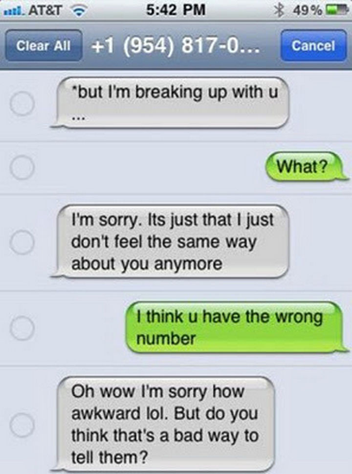 22 Breakup Text Messages - Doing a dry run first and getting an opinion.