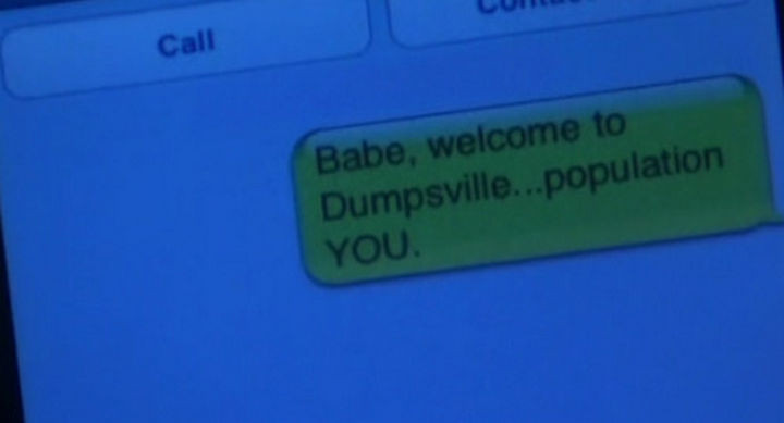 22 Breakup Text Messages - That was somewhat corny but it was funny when The Simpsons did it.