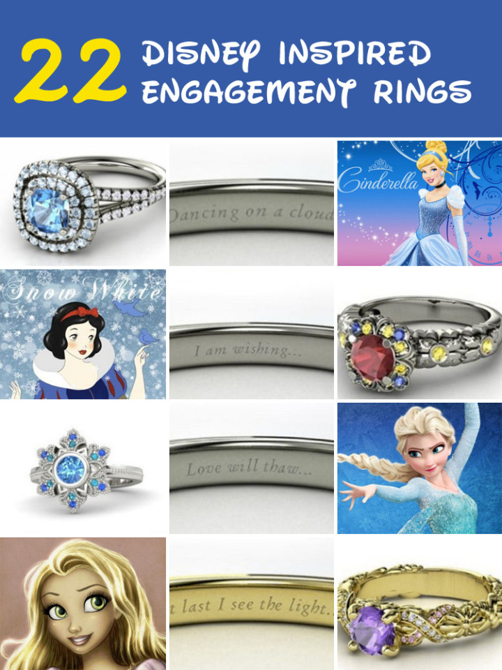 22 Disney-Inspired Engagement Rings That Will Make You Feel Like a Princess