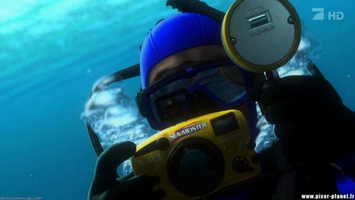 Disney and Pixar 'A113 Easter Egg - Etched on the diver's camera in Finding Nemo.