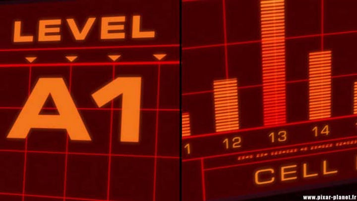 Disney and Pixar 'A113 Easter Egg - Cleverly hidden as the coordinates of Mr. Incredible's cell in The Incredibles.