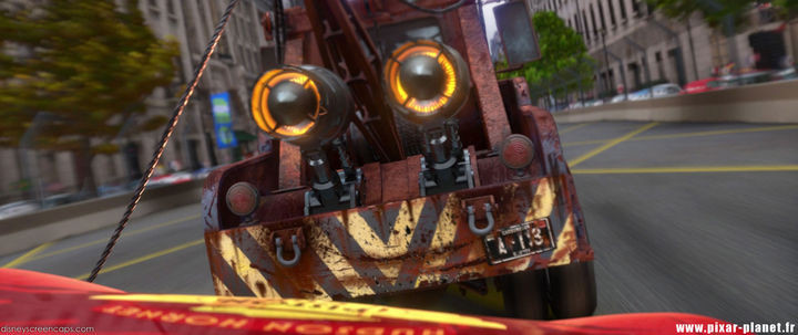 Disney and Pixar 'A113 Easter Egg - Mater's license plate number in Cars 2.