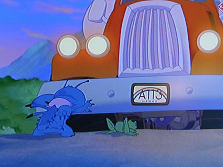 Disney and Pixar 'A113 Easter Egg - License plate numbers as seen in Lilo & Stitch.