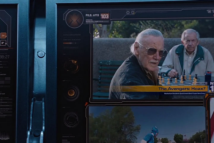 Disney and Pixar 'A113 Easter Egg - Appears in The Avengers.
