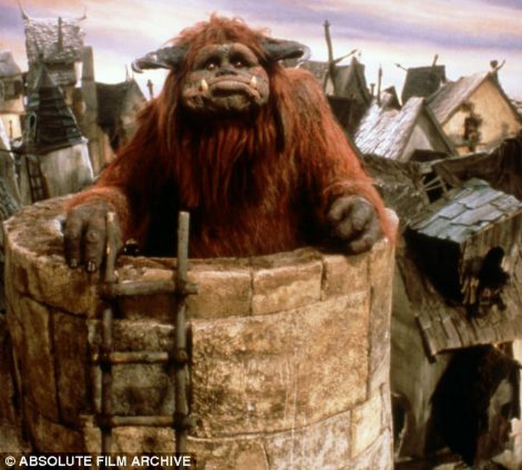 Early in his career, Ron Mueck worked as a model maker and puppeteer and was behind Ludo the 'Gently Giant' in Jim Henson's 1986 fantasy movie 'Labyrinth.'