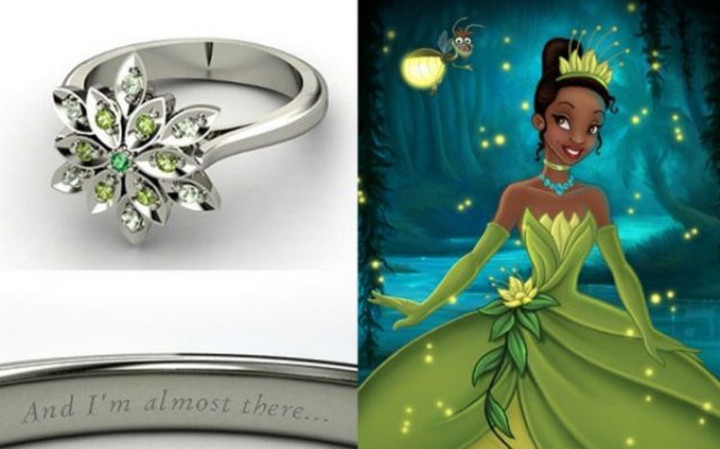 Tiana - 22 Disney Princess Engagement Rings.