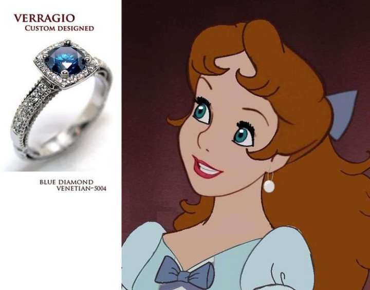 Wendy - 22 Disney Princess Engagement Rings.