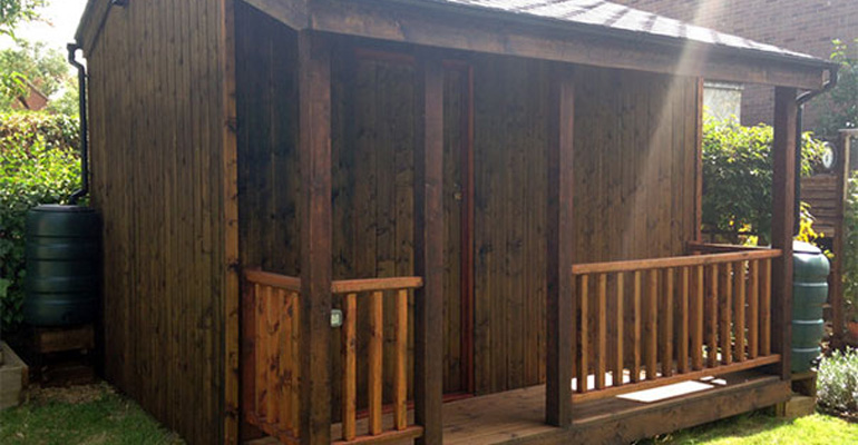 This Shed Looks Great but It's Not a Normal Shed. Wait Till You See What's Inside…