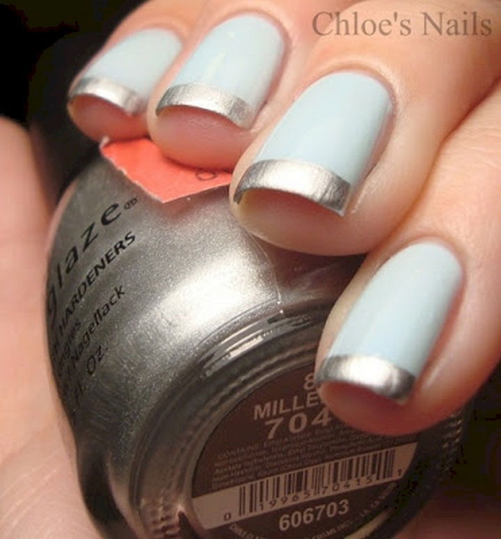 18 gorgeous french manicures with a twist of creativity 18 gorgeous french manicures with a twist elegant gold french manicure urmus Choice Image