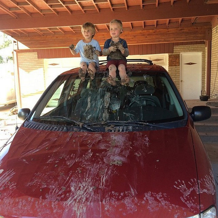 33 Reasons to Be Happy If You Are Not a Parent - You won't have to clean your car every day.