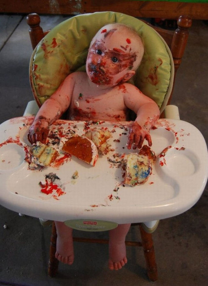 33 Reasons to Be Happy If You Are Not a Parent - You won't have to clean up any of this...