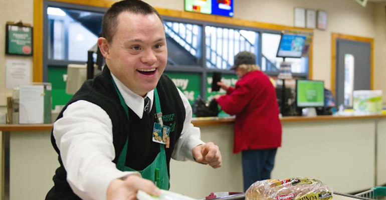 Grocery Bagger With a Disability Was Ridiculed by a Customer.