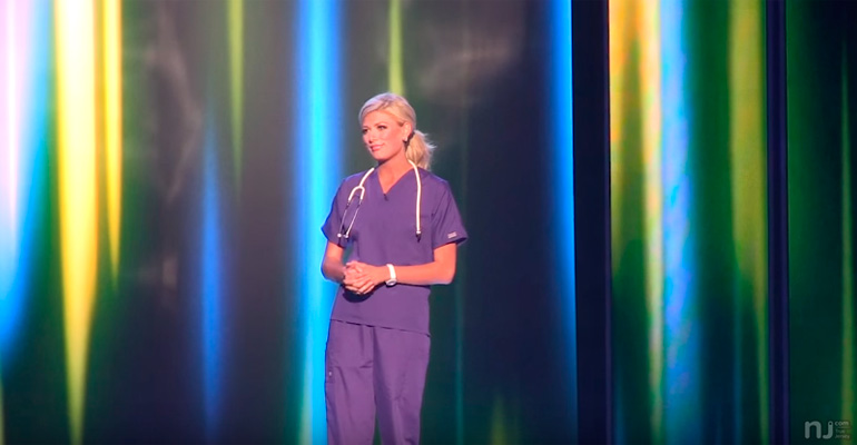 Kelley Johnson's Touching Story of Why She Became a Nurse.