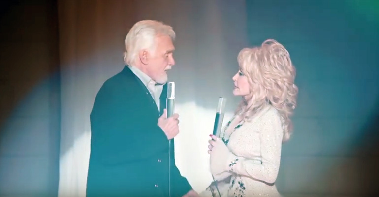 You Can't Make Old Friends - Kenny Rogers and Dolly Parton.