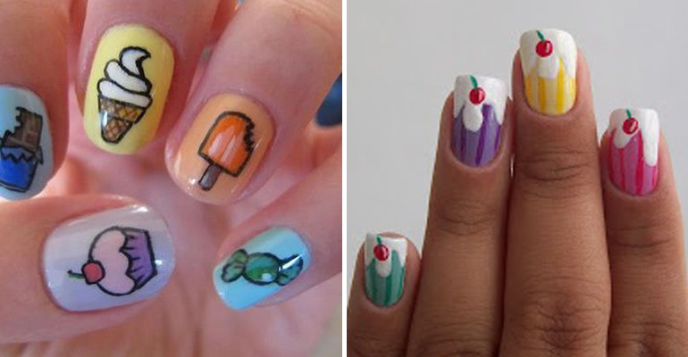11 Dessert-Inspired Nail Art Designs That Look Delicious but Have Zero Calories
