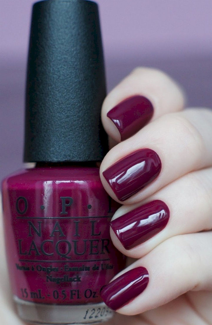 13 Plum Nails That Are Perfect for the Fall Season