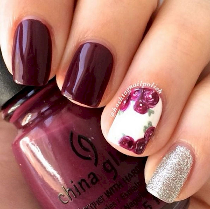 13 Plum Nails - Gorgeous and so pretty!