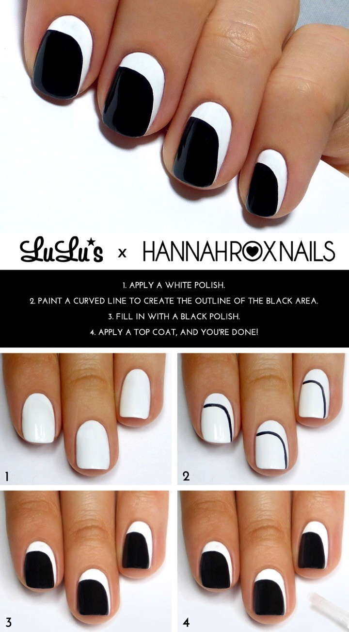 13 Easy Nail Designs for the Lazy Girl in All of Us | Nail Art