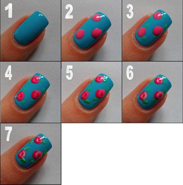 Ramblings of a Girl in the City - 13 Easy Nails Designs For The Lazy Girl In All Of Us