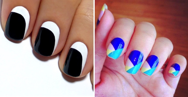 13 Easy Nails Designs for the Lazy Girl in All of Us.