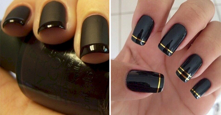22 Black Nail Designs That Range from Elegant to Edgy.