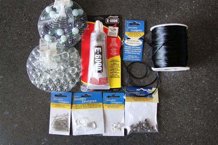 You simply need a few supplies that you can find in any craft or dollar store.