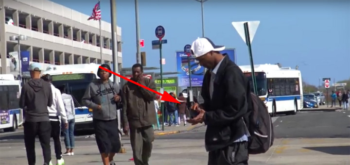 Lost Wallet Is Returned by Young Man in Social Experiment.